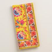 Floral Mexican Boho Napkins Set of 4