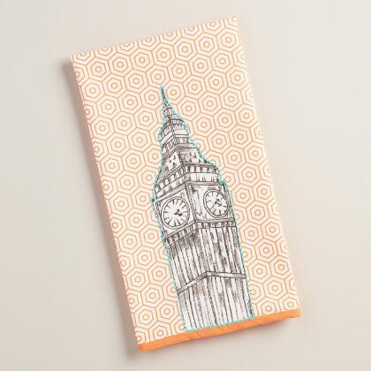 Embroidered Big Ben Kitchen Towel