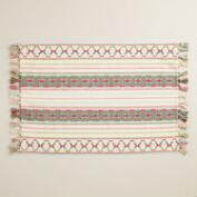 Woven Stripe Cassia Placemats Set of 4