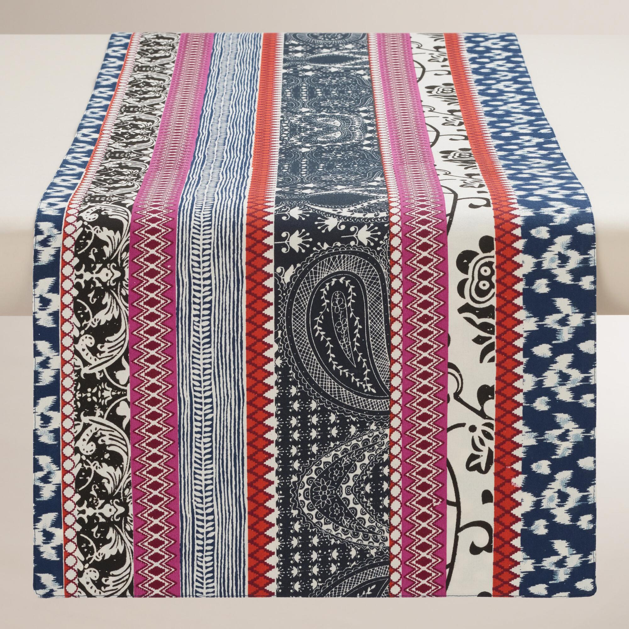 Tribal Stripe Table Runner World Market