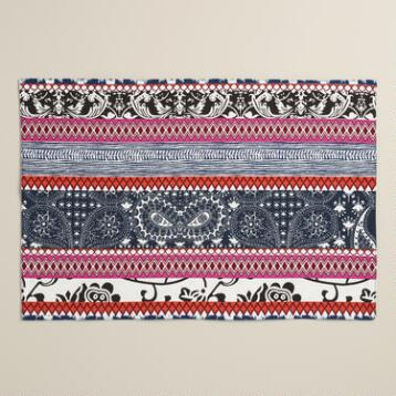 Tribal Stripe Placemats Set of 4