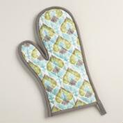 Allison Medallion Oven Mitt