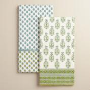 Aqua Rana Kitchen Towels Set of 2