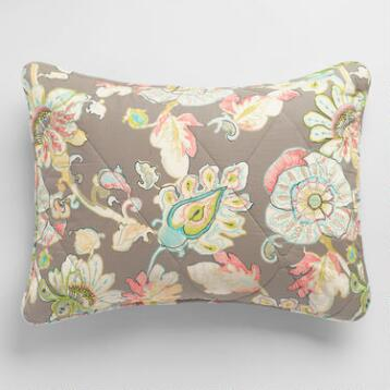 Floral Corinne Pillow Shams, Set of 2