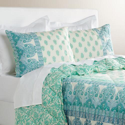 Ombre Paisley Nalina Bedding Collection