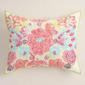 Rachel Medallion Pillow Shams, Set of 2