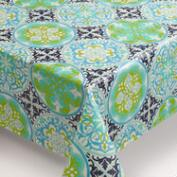 Gabriella Tile Oilcloth Tablecloth