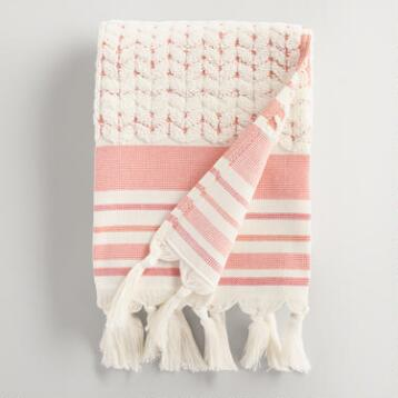 Coral Riley Sculpted Hand Towel