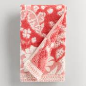 Coral Sophia Sculpted Hand Towel