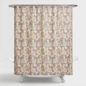 Multicolor Floral Corinne Shower Curtain