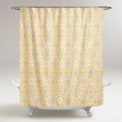 Lemon Fraiche Ogee Marjorie Shower Curtain