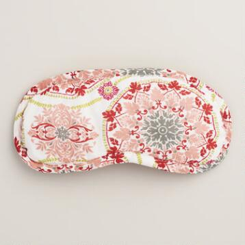 Pink Medallion Julianna Eye Mask