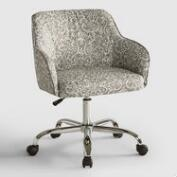 Veranda Pewter Jozy Home Office Chair