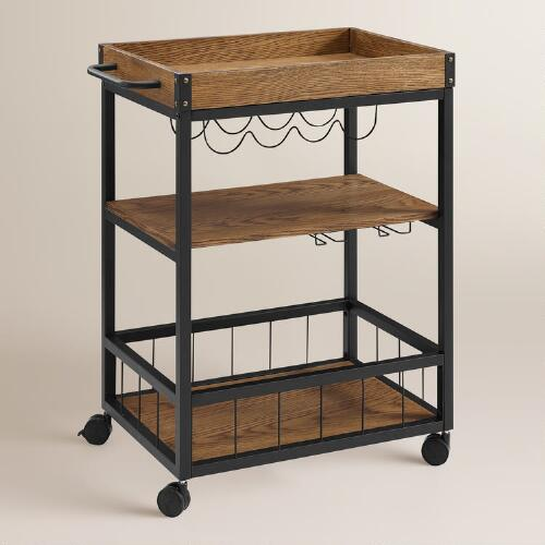 Metal Ranney Kitchen Cart