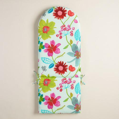 Ocean Bouquet Adirondack Chair Cushion