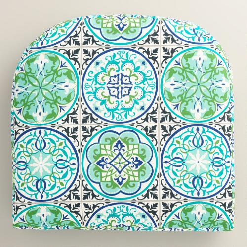 Gabriella Tile Gusseted Outdoor Chair Cushion
