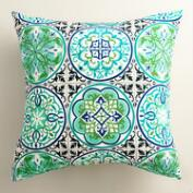Gabriella Tile Outdoor Throw Pillow