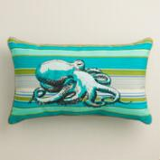 Octopus Outdoor Lumbar Pillow