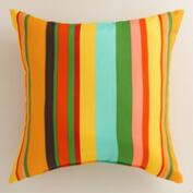 Havana Stripe Outdoor Throw Pillow