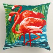 Flamingo Outdoor Throw Pillow