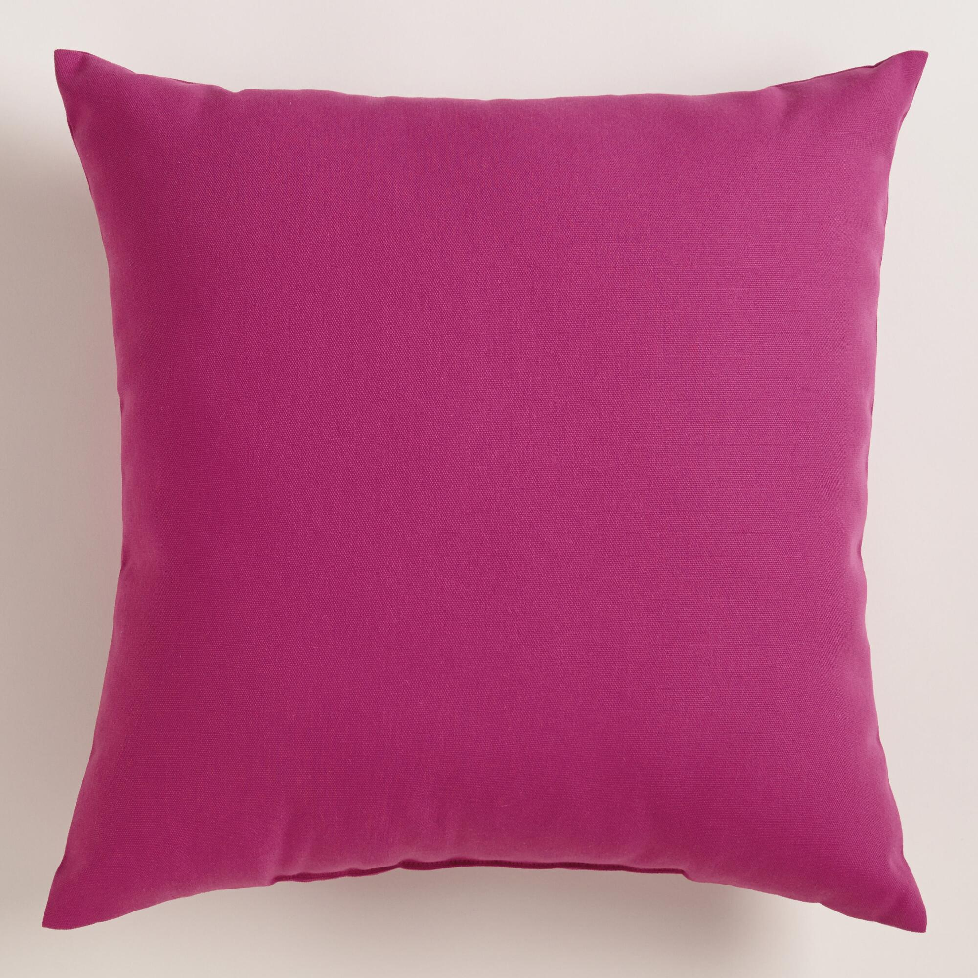 fuchsia outdoor throw pillow world market