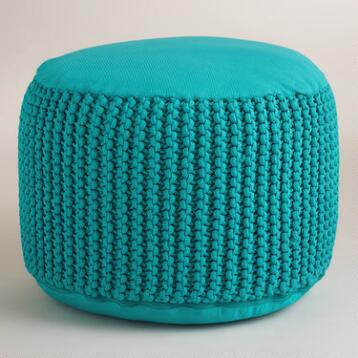 Capri Breeze Outdoor Pouf