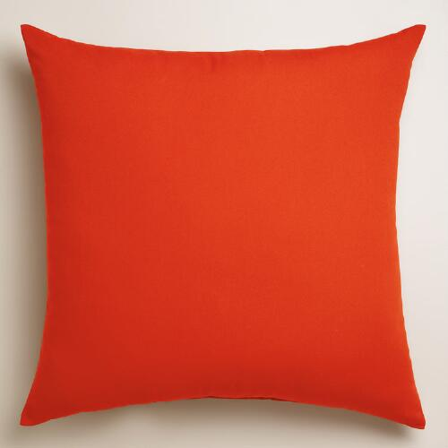 Poinciana Outdoor Throw Pillow