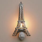 Handcrafted Metal Eiffel Tower Night Light