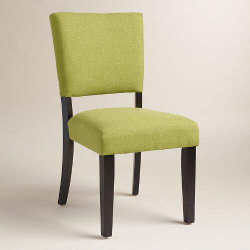 Green Mady Dining Chairs Set of 2