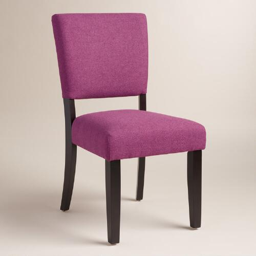 Purple Mady Dining Chairs Set of 2