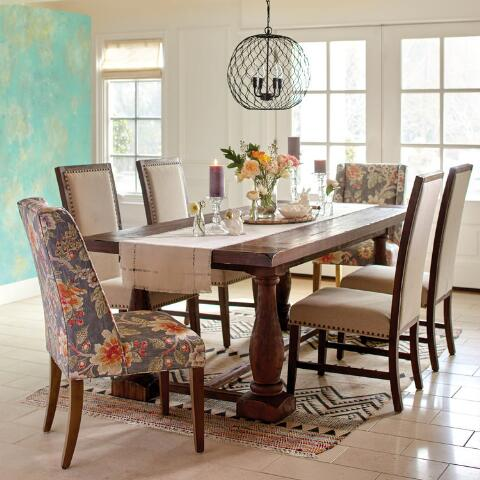 world market dining room chairs | Room with a View Floral Lawford Dining Chair | World Market