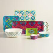 Oceans Gate Melamine Serveware Collection