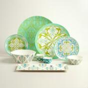 Coastal Melamine Dinnerware Collection