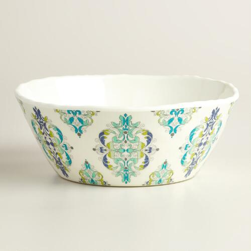 Coastal Melamine Bowls Set of 4