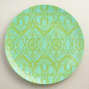 Large Round Coastal  Melamine Serving Platter