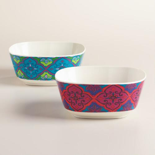 Oceans Gate Melamine Bowls Set of 2