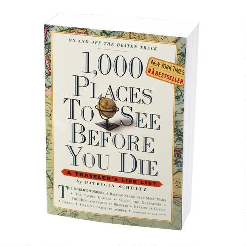 """1000 Places To See"" Book"