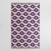 5x8 Ikat Tufted Foley Area Rug