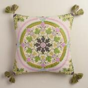 Cotton Julianna Throw Pillow