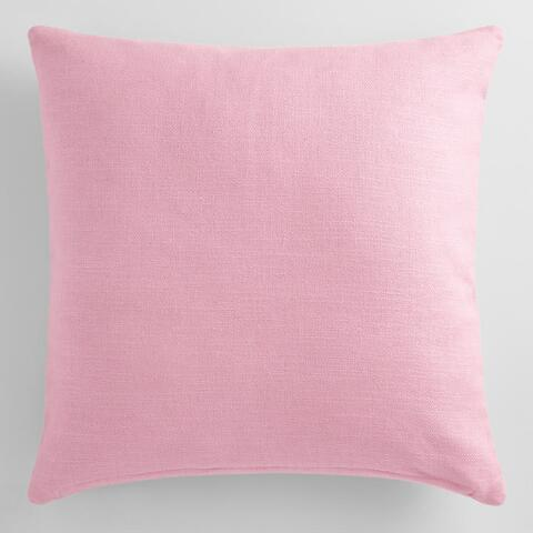 Lilac Mist Herringbone Cotton Throw Pillow World Market