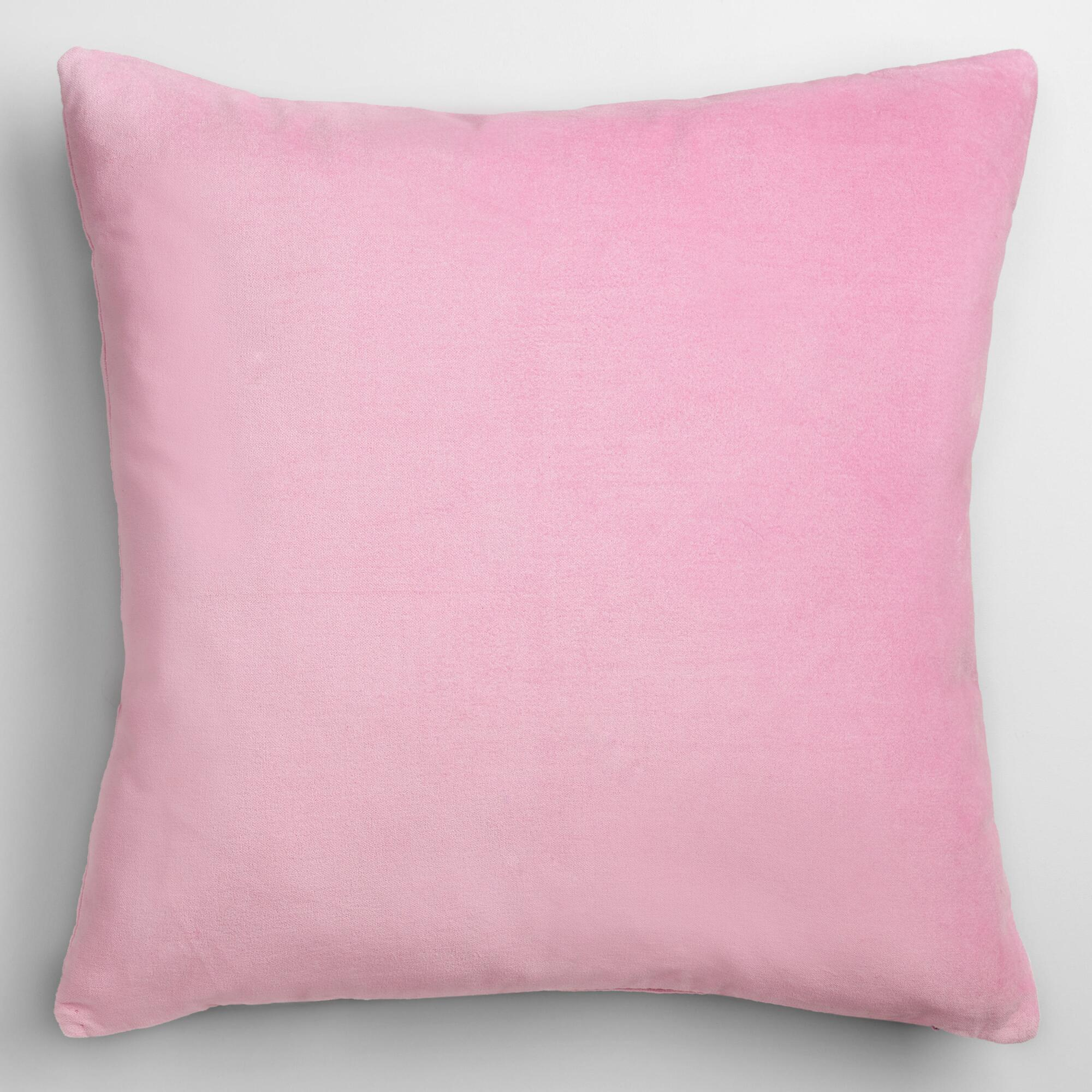 Decorative Pillow Lilac : Lilac Mist Velvet Throw Pillow World Market