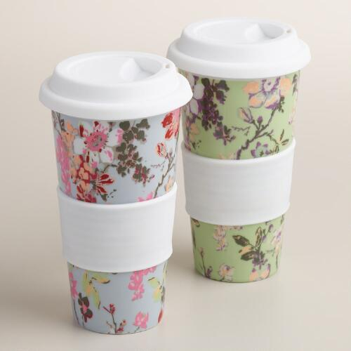 Grace Ceramic Travel Not A Paper Cup Set of 2