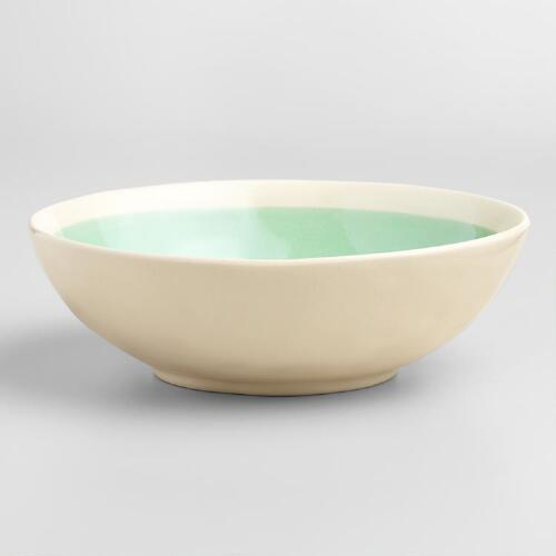 Aqua Henley Bowls Set of 4