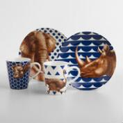 Geo Safari Animal Dinnerware