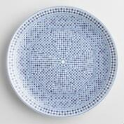 Blue Fez Tile Salad Plates Set of 6
