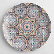 Fez Moroccan Tile Dinner Plates Set of 4