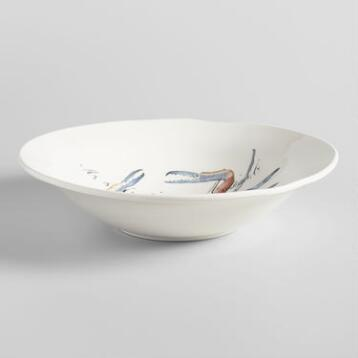 Italian Sealife Serving Bowl