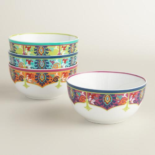 Jessica Porcelain Bowls Set of 4