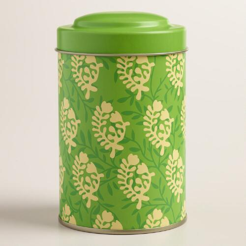 Bhuti Print Tea Tins Set of 2