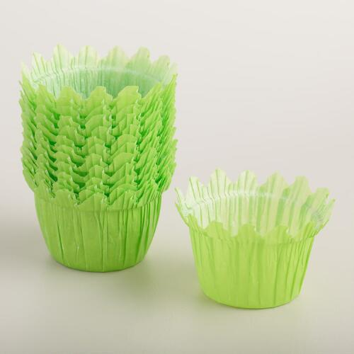 Green Grass Cupcake Liners 24 Count